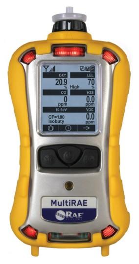QRAE PLUS PGM-2000 (LEL, 02, CO, H2S, PID)